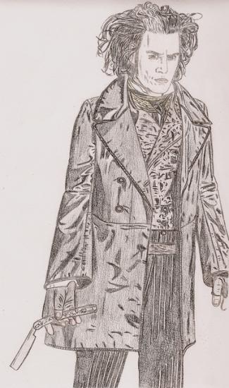 Johnny Depp by albertinez